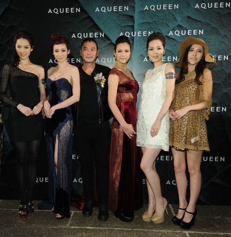 香港品牌aqueen 举行珠宝品鉴夜图片