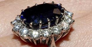 杰拉德蓝宝石戒指