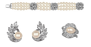 格蕾丝王妃的订婚珠宝系列