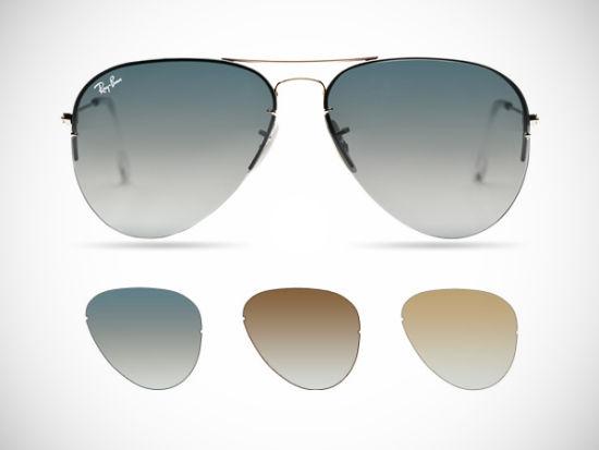 可换镜片式太阳镜