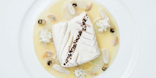 Ducasse的料理并不走华丽风,但用料精准。