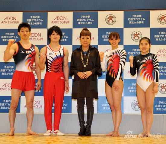 日本设计师小筱弘子为日本队设计服装