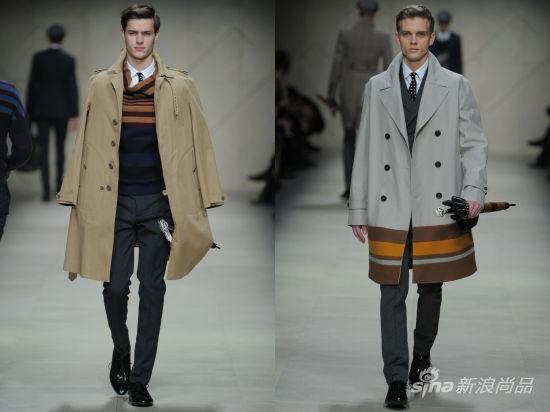 秋冬季男士风衣穿搭法则之英伦风