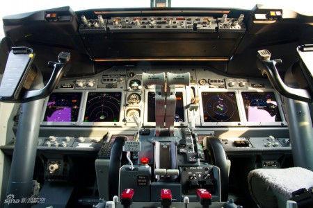 波音BBJ公务机驾驶舱