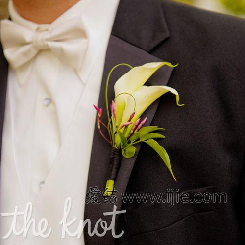 马蹄莲折纸花包装步骤图解