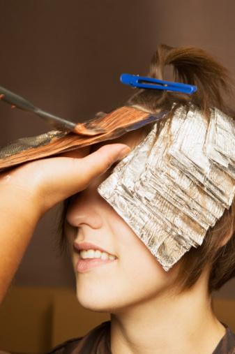 Как дома сделать себе мелирование на короткие волосы