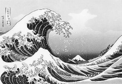 《神奈川冲浪里》