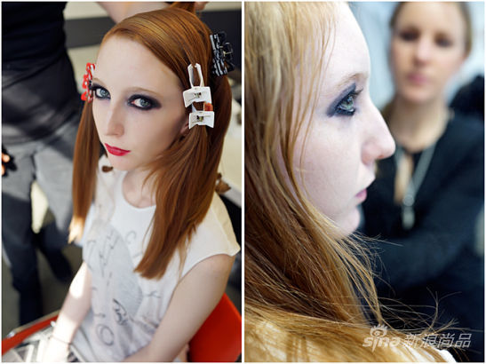"""这姑娘镜很上镜,像个""""冰山""""美人,她来自加拿大的艾伯塔省。"""