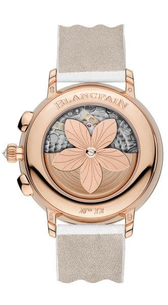 Blancpain宝珀巴塞尔新品:大日历窗计时码表-背部