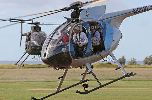 MD530F直升机