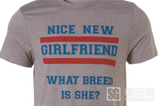 Topman侮辱女性嫌疑的T恤