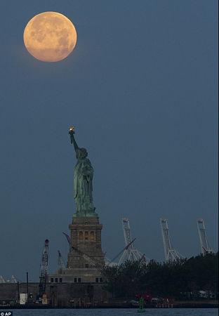 超级月亮 2013 7.23