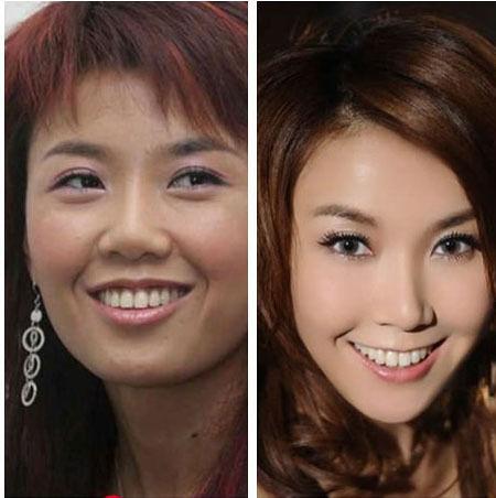 歌手王蓉新片被批恶俗 大脸变尖疑整容图片