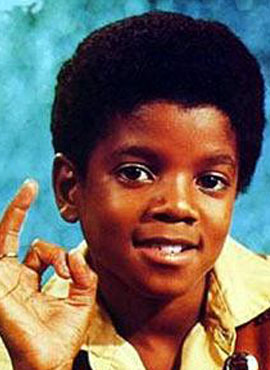 1969年11岁的迈克尔 杰克逊