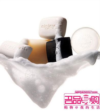 根据肤质选洁面皂
