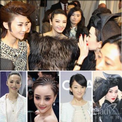 巴黎時裝周上華人女星