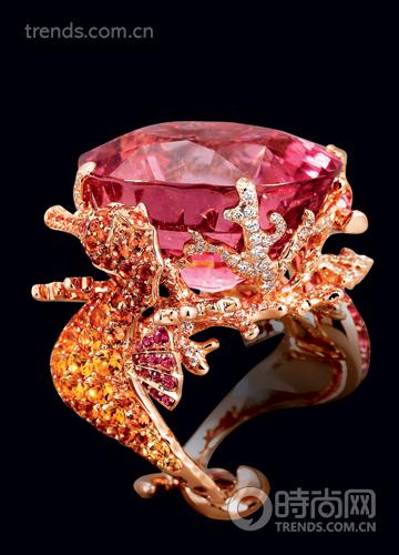 超可爱钻石动物形态戒指