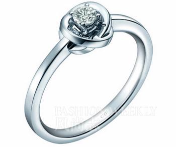 周大福骄人系列 钻石戒指-灵动