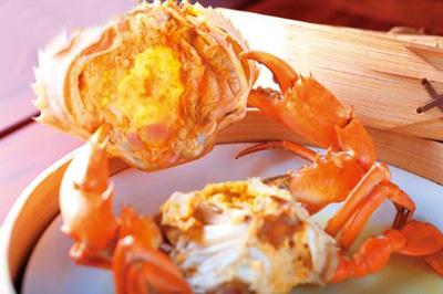 清蒸黄油蟹(新荣记)