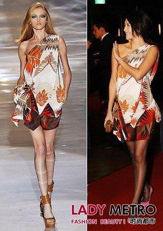 亚洲女星挑战欧美大牌服饰
