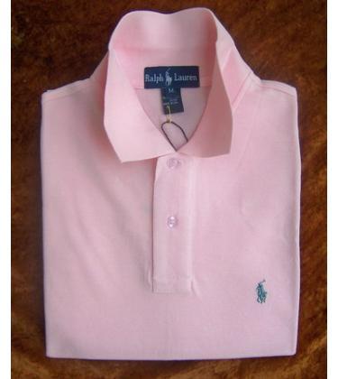 粉色也是polo衫的经典色