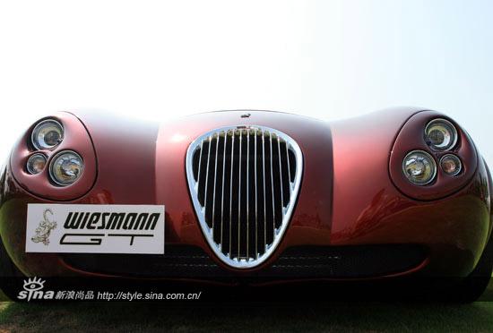 古典贵族跑车 威兹曼