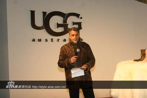 UGG Australia营运总裁Mr.Zohar Ziv