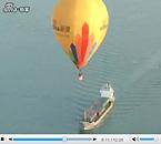 视频:热气球飞跃琼州海峡