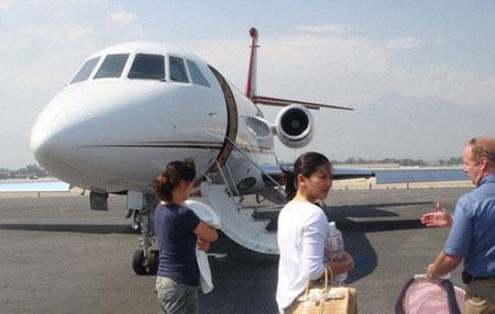刘涛奢华私人飞机值3亿