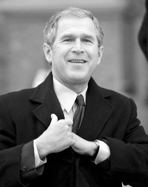 布什总统中心藏品五花八门(组图)