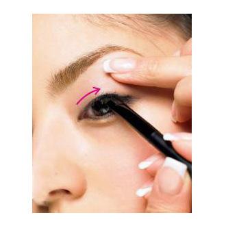 外国彩妆眼影步骤图解