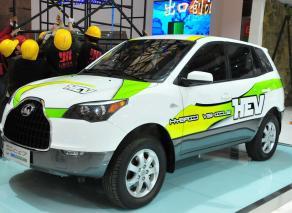 猎豹CS7混合动力车