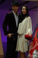 英菲尼迪展台2号模特