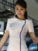 本田展台5号模特