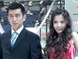 08广州车展最靓丽的情侣车模