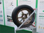 锦湖轮胎产品现场展示