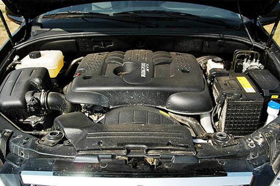 现款双龙享御采用源自德国奔驰技术的XDi 200柴油发动机
