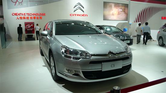 东风雪铁龙C5亮相成都车展 预计售20万元区间