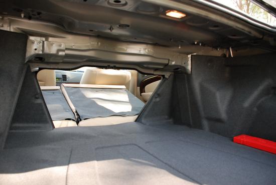 景程拥有470L的后备厢空间