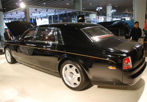 劳斯莱斯幻影将亮相广州车展,预计售价为780万。