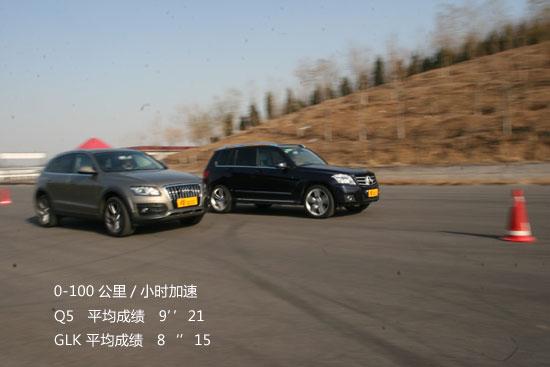 两车加速测试