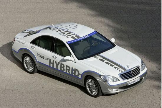 奔驰Vision S500插电混合动力概念车