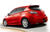 全新Mazda3两厢尾部