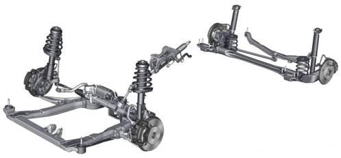这种原本在f1赛车上结构,让作用在悬架上的侧力简单的被吸收,从而让