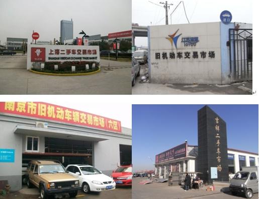 2010中国二手车市场考察团考察各地市场