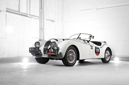 全球最伟大的跑车之一 XK120