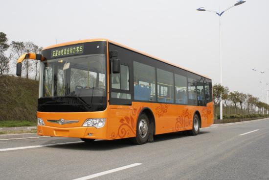 亚星6106油电混合客车