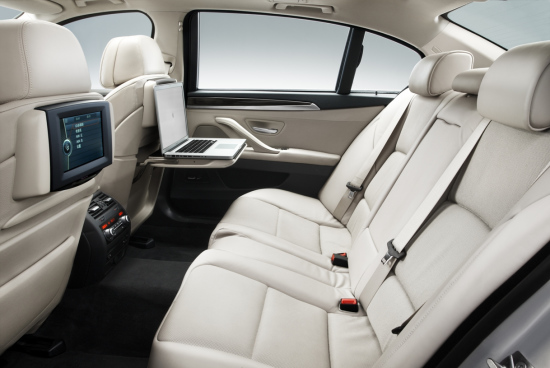 全新BMW 535Li后排