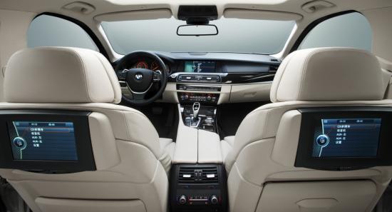 全新BMW 535Li内饰