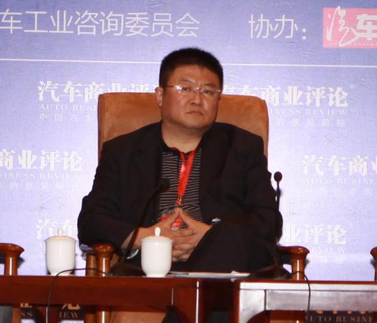 奇瑞汽车股份有限公司副总经理 杨波